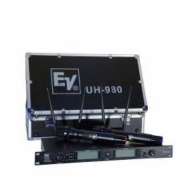 میکروفن بیسیم دو دستی   EV  UH-980 UHF